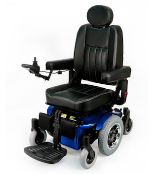 Sunrise Medical Quickie Pulse 6 Powr Wheelchair