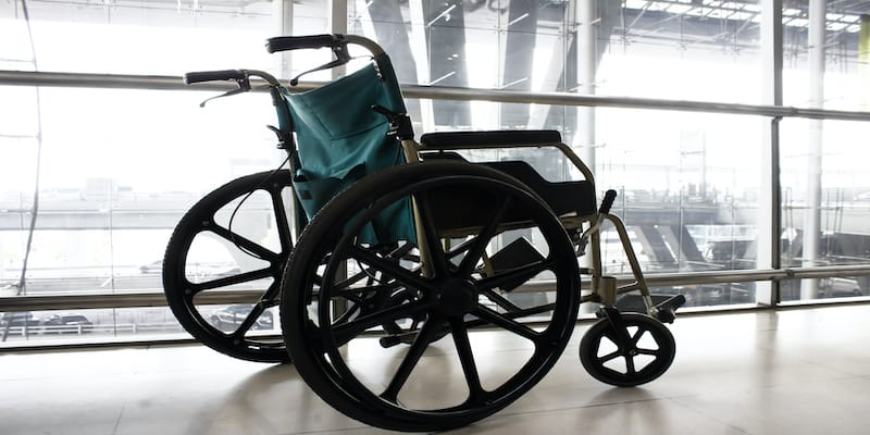 Packing made easy for those with a mobility device